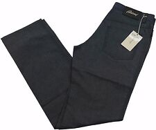 "Brioni Livigno Jeans Handmade in Italy BNWT Luxury Dark Blue Denim Size 32"" £410"
