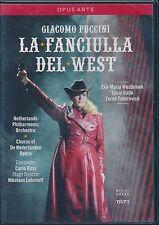 Puccini La Fanciulla Del West Netherlands Opera DVD NEW Carlo Rizzi Gallo