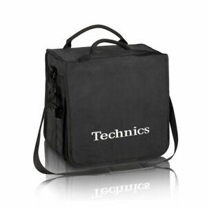 Technics DJ Record Bag Ruck Sack 50 vinyl LP Black / Silver Logo SL 1200 SL 1210