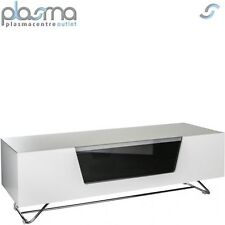 "Alphason Chromium White TV Stand for up to 60"" TVs"