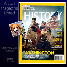 National Geographic History Number 5 Washington Samurai Medieval Inventions  PB