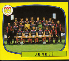 Panini football 1988 sticker-nº 487-dundee team group