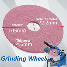 105mm Grinding Wheel Stone Disc For Chainsaw Sharpener Grinder 3/8&404 Chain NEW