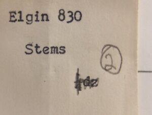 Watch winding stem model 830