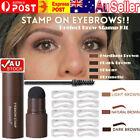 AU❤❤Waterproof Eyebrow Stamp Shaping Makeup Set One Step Brow Stamp Shaping Kit!