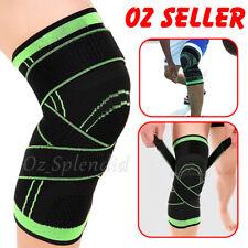 3D Weaving Knee Brace Breathable Sleeve Support Running Jogging Sports Leg