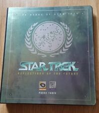 Star Trek Reflections of the Future Phase Three Binder, 3D Motion Cards & more!