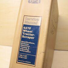CAT Caterpillar 627F Tractor-Scraper Repair Shop Service Manual operation guide