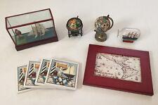 Lot of Nautical, Ship, Sailing, Globe, Map Decor Theme