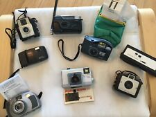Lot Of Vintage Cameras. 8 Total. Please View Photos