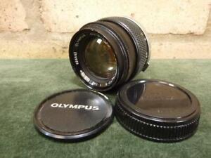 vintage Olympus Zuiko Auto-s  1:4 50mm Lens OM mount