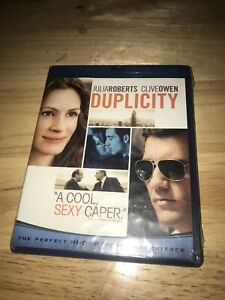 Duplicity (Blu-ray Disc, 2009) Factory Sealed