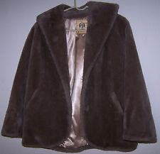 VINTAGE BORGANA Borg Deluxe Faux Fur Jacket - Approx. Size Medium - EUC!