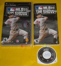 MLB 09 THE SHOW Psp Versione Americana 1ª Edizione »»»»» COMPLETO