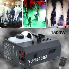 1500W Nebel Nebelmaschine DMX 512 Vertikal Upspray Fogger Stage Wireless Remote