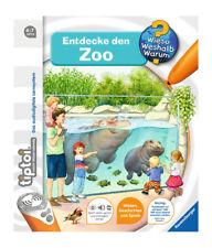Tiptoi Entdecke den Zoo von Inka Friese (2017, Ringbuch)
