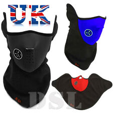 Bike Motorcycle THERMAL SKI Face Neck Cover Warmer Neoprene Mask Balaclava Sport