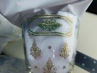 Georges Briard Lowball Tumblers Rock Glasses Set of 6  Fleur De Lis  Filigree