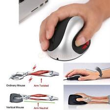 New 2.4G Wireless 1600DPI Rechargeable 6D Ergonomic Design Vertical Mouse for PC
