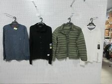 4 ADULT MEN'S PULLOVER SHIRT JACKET SWEATER CARDIGAN LOT CLOTHING MD MEDIUM NEW