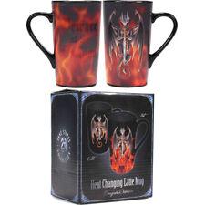 Anne Stokes Dragon Warrior Heat Changing Latte Mug