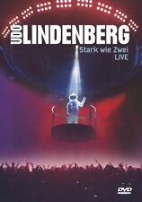 "UDO LINDENBERG ""STARK WIE ZWEI LIVE"" 2 DVD NEU"