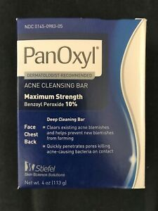 PanOxyl Acne Cleansing Bar Expired 2017
