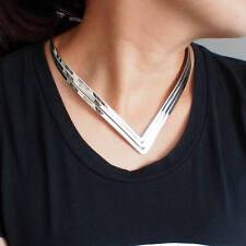 Statement Kette Halskette silber gold Style Blogger auffällig Geometrie edgy