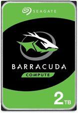 Seagate BarraCuda 2TB Internal Hard Drive HDD – 3.5 Inch SATA 6Gb/s 7200 RPM 256