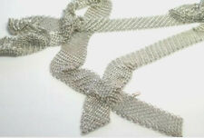 """Tiffany & Co Peretti Mesh Scarf Necklace XL Extra Long 51"""" Sterling Silver Rare"""