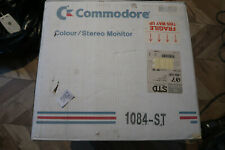 Commodore 1084ST Monitor Box + RGB + Power cord + Manual + inserts.