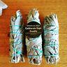 Smudge Kit - White California Sage Bundle - Pack of 3 - Energy Cleansing Set