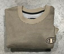 NWOT Large Champion Gold & Black Crew Neck Sweater Buy It Now $39 OBO