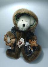 Boyds Bears TJ's Best Dressed Fern Woodsbeary New w/ Tags