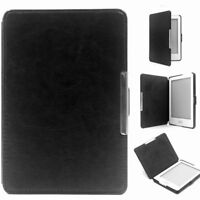 Magnetic Auto Sleep Slim Flip Cover PU Leather Hard Case For KOBO GLO