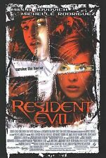 RESIDENT EVIL Original Movie Poster - Double Sided 27x40 ~ Milla Jovovich