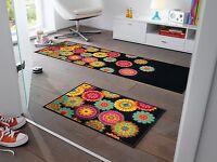 wash+dry Teppich waschbar Bodenmatte Fußmatte Läufer 60 x 180 cm  PEPPINA