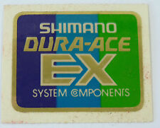 Shimano Dura Ace EX Decal Bicycle Frame Tubing Vintage Racing Bicycle NOS