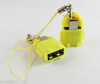 Android Robot Micro USB Host OTG Adapter for Galaxy S3 S4 Note2 & Google Nexus 7