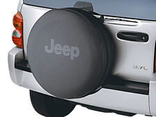 2002-2007 Jeep Liberty Anti-Theft Tire Cover Black MOPAR GENUINE OEM NEW