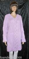 handgestrickt Pullover - Mohair -  UNISEX  -  XL XXL ->  hand knitted <-