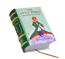 The Little Prince in English Miniature Book Hardbound color pages ribbed spine