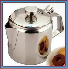 STAINLESS STEEL TEAPOT TEA POT 20oz 0.6L LITRE KITCHEN OFFICE 11031