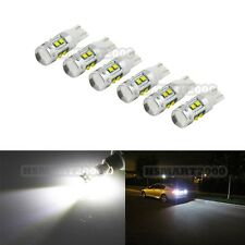 6PCS 6000K White 50W XBD CREE T10 T15 168 192 921 W5W Super Bright LED Bulbs