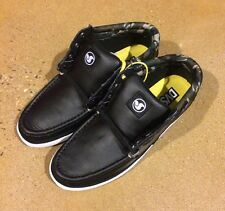 DVS Hunt Size 8 Black Leather With Camo BMX DC Skate Shoes $78 Box Price