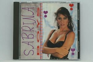 Sabrina : Boys (Best Of) CD Album - My Chico , All Of Me , Sexy Girl - RARE