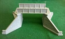 Small Girder Bridge N Gauge Model Railway Supports Brick/ Stonework Detail