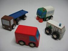 Wooden CARS / TRUCKS   ~ For Wooden Road Rail Track ~ B3