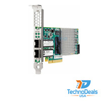 HP 593717-b21 593742-001 QLE3242 NC523SFP 10GB 2 Port Server-Adapter
