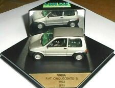 car 1/43 VITESSE V095A FIAT CINQUECENTO  S 1992 GREY (MET SILVER) NEW BOX